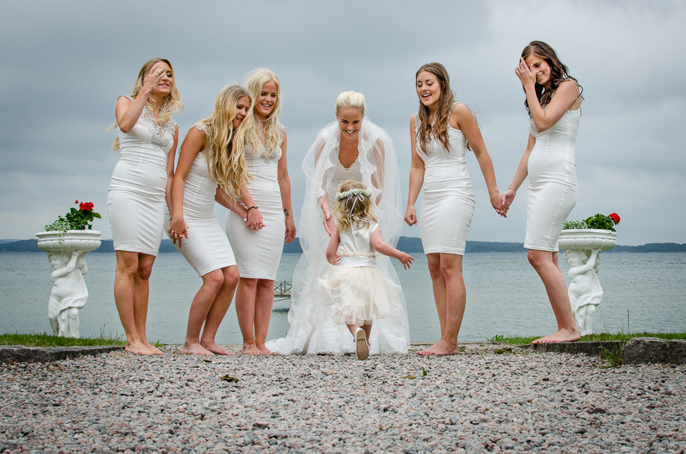 bröllop bjärsmyr brudtärnor