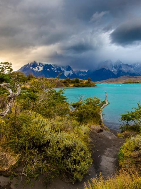 patagonien lago pehoe
