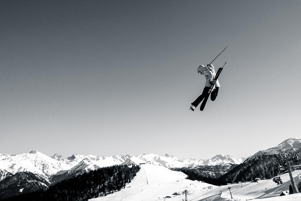 hopp skidor